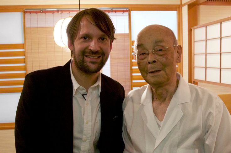 Jiro Ono and René Redzepi Have a Cup of Tea This is so so inspiring. Listening to a Japanese master talk about dreams, dedication and the future might be one of my favourite things in the world..