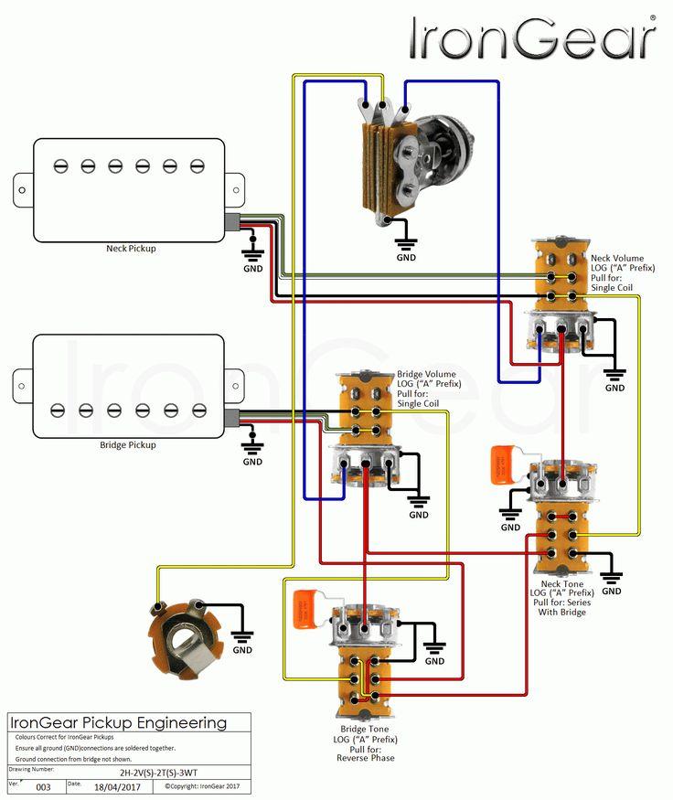 Unique Guitar Wiring Diagram One Volume One Tone  Diagram