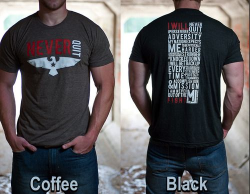 Navy SEAL Creed T-Shirt from Marcus Luttrell's website.
