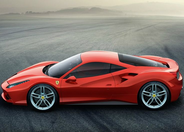The Ferrari 488 GTB. Photo By Ferrari Media Center On February 2015 At  Ferrari 488 GTB Unveil.