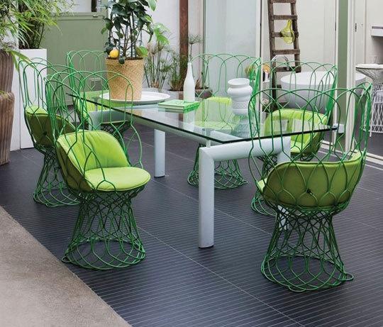 Green Outdoor Furniture & Furnishings