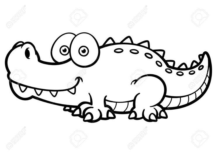 Resultado de imagen para fotos de yacare para colorear | cocodrilo ...