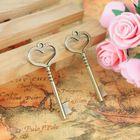 46-19mm diy retro sieraden hart liefde antieke metalen sleutel charmes, Lichtmetalen vintage key hanger oude bronzen accessoires groothandel