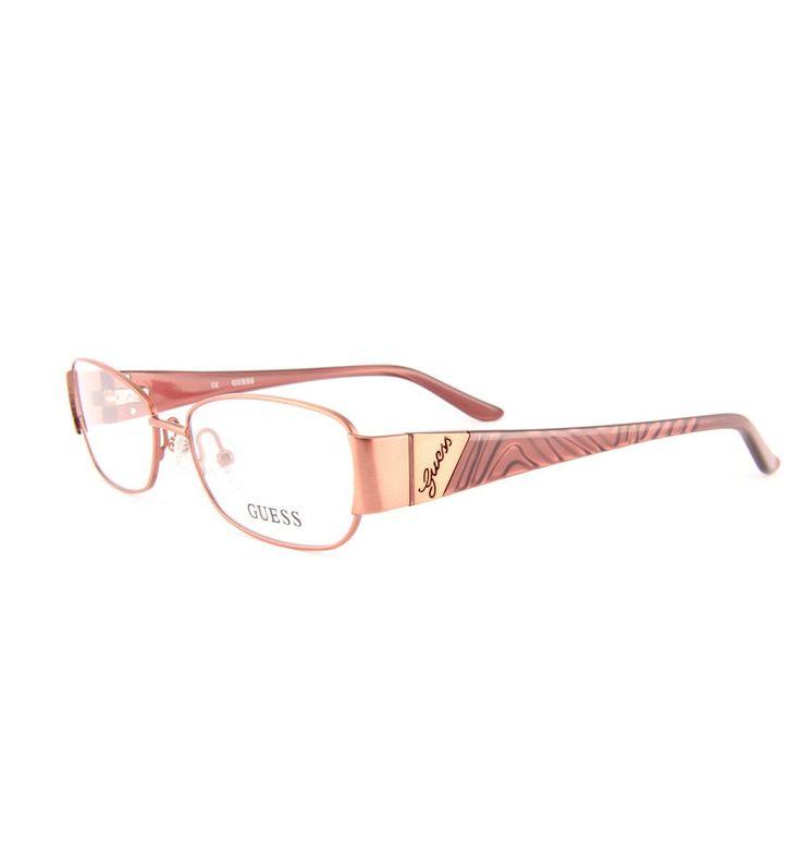 Značkové dámské brýle Guess GU 2307 BRN #bryle #guess #eyeglasses #damske #moda #moderni #trendy #praha #optika #eurooptik