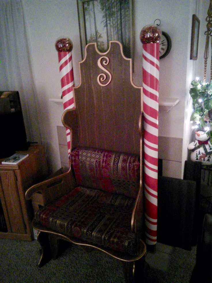 John Chilson Modified His Puzzle Throne With Pvc Candy