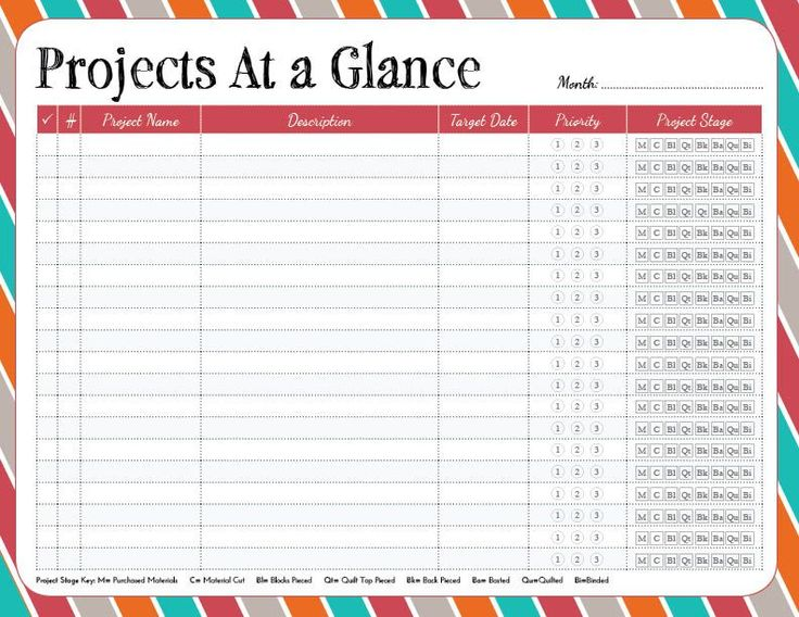 25+ unique Project planner ideas on Pinterest List of goals - project to do list templates