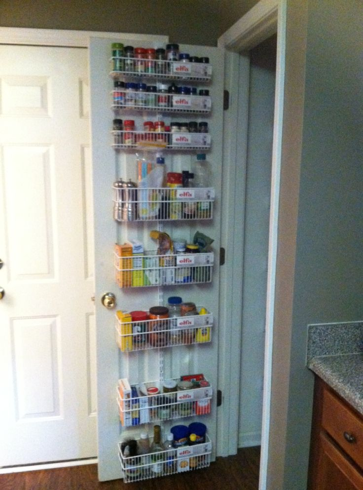 Exceptional From The Container Store · Elfa Door And Wall Rack Takes Command Of This  Pantry! Look At All That Storage