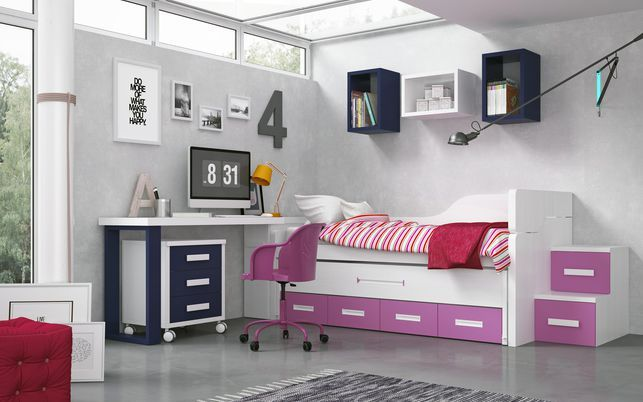 Mejores 12 imágenes de Nuestros muebles juveniles para dormitorios ...