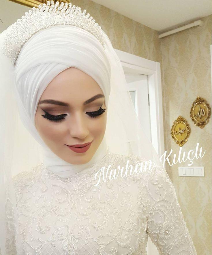 """406 Beğenme, 9 Yorum - Instagram'da Türban Tasarım&Makeup Studıo (@nurhan.kilicli): """"Çok Beğenildi birkez daha paylaşalım guzel gelim Havva """""""