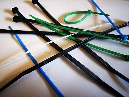 Cable tie - Wikipedia