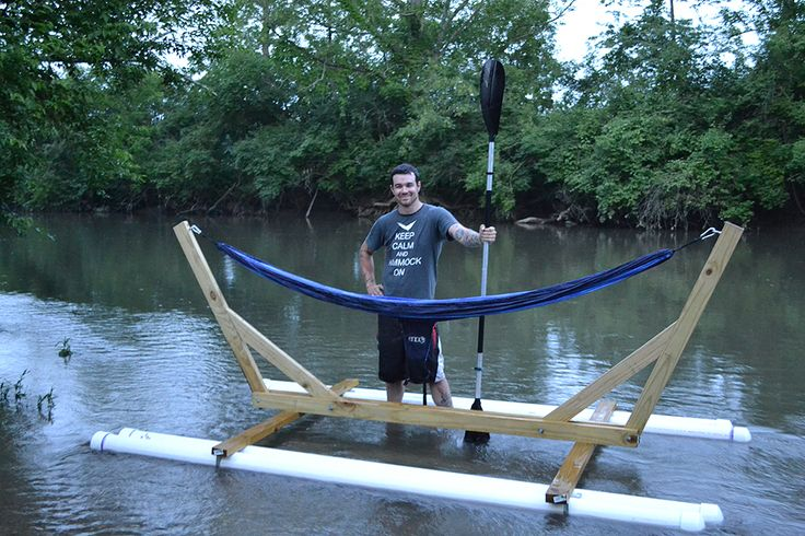 Barrel Raft Plans Http Www Boatdesign Net Forums Boat Building Raft | Build a Boat | Pinterest ...