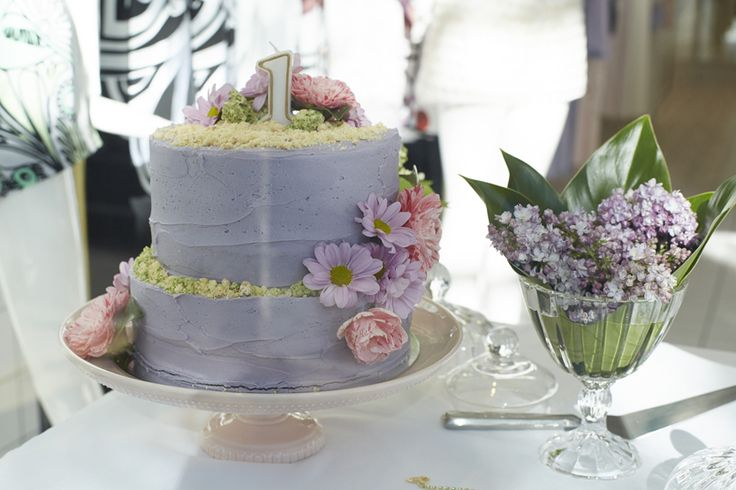 Cakes and flowers from our alice McCALL Chapel St 1st Birthday!