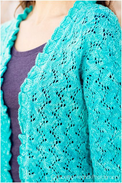 Ravelry: Midwinter Dream Cardigan pattern by Jean Clement