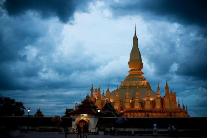 Pha That Luang, Vientiane, Laos | 1,000,000 Places
