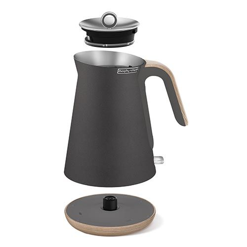 Wooden trims, removable limescale filter, massive 1.5L capacity, faster boiling 3kW element, cord storage... the full Scandinavian look & feel into the new collection of kettles by Morphy Richards.