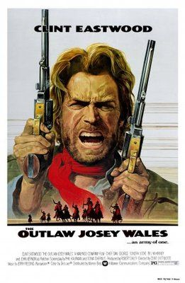 The Outlaw Josey Wales (1976) movie #poster, #tshirt, #mousepad, #movieposters2