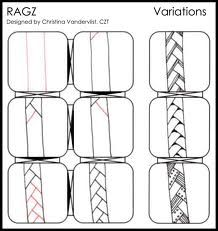 zentangle patterns step by step - Google Search