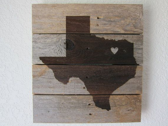 Custom State Love Silhouette by CraftHausLove on Etsy, $22.00