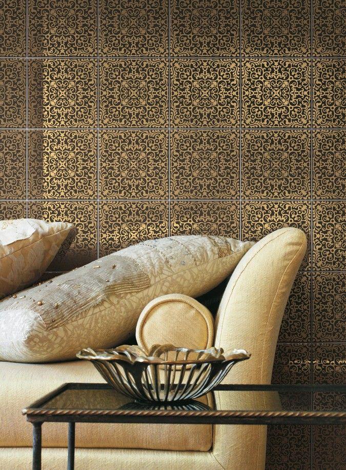 Ceramica Bardelli - Carmen, by Marcel Wanders  #tiles #ceramictiles #madeinitaly #tile #piastrelle #piastrelledesign #design #designmadeinitaly #ceramicabardelli #bardelli #syncronia #architecturevictims #syncroniaarchitecturevictims #gold #puregold #marcelwanders #marcel #wanders #marcelwandersdesign