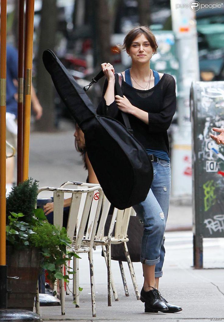 Keira Knightley Begin Again Style Muses Pinterest