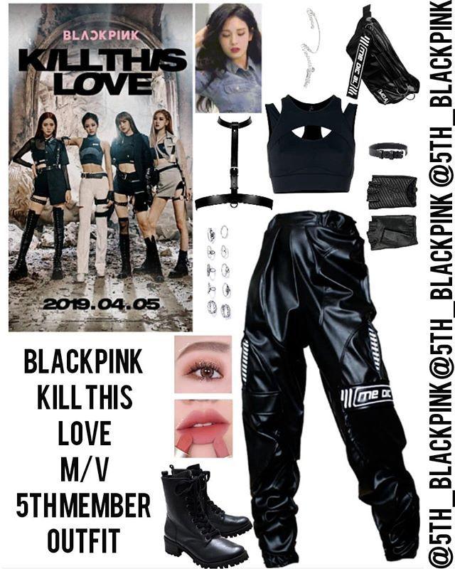 BLACKPINK - KILL THIS LOVE M/V ♡ - 5TH MEMBER INSPIRED