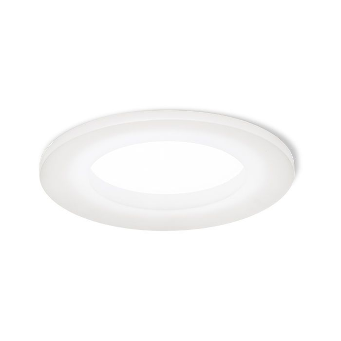 KIR | rendl light studio | Recessed LED light with a frame of frosted acrylic, that passes through light to the sides. #lighting #interior #recessed #LED