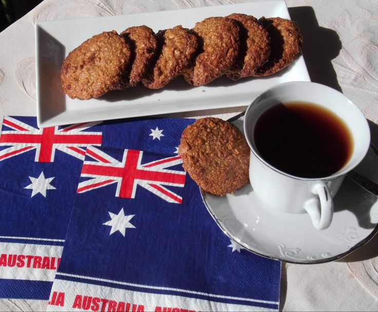 Recipe Gluten Free Anzac Biscuits with Quinoa by David Reed - Recipe of category Baking - sweet