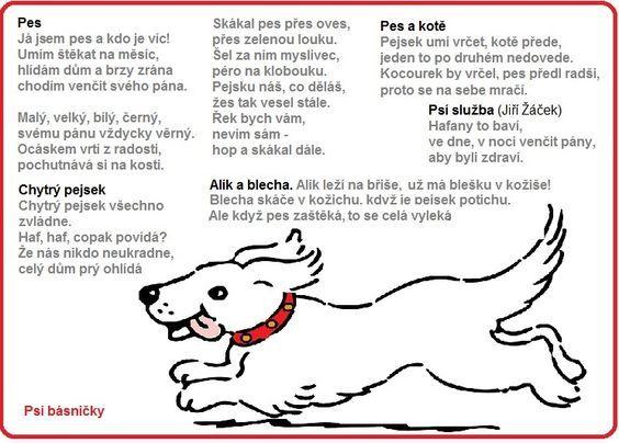 psí básničky: