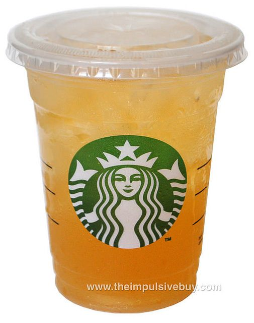 REVIEW: Starbucks Shaken Iced Peach Green Tea Lemonade.  I like it without the lemonade, Refreshing in the car on a hot day!   I get the TRENTI suze!!