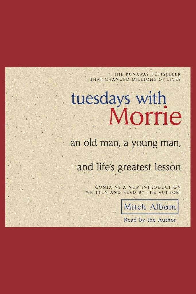 "tuesdays with morrie by mitch albom By the book mitch albom: by the book the author of ""tuesdays with morrie"" and, most recently, ""the magic strings of frankie presto"" avoids ""grim."