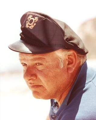 Alan Hale served with the  US Coast Guard during WWII.