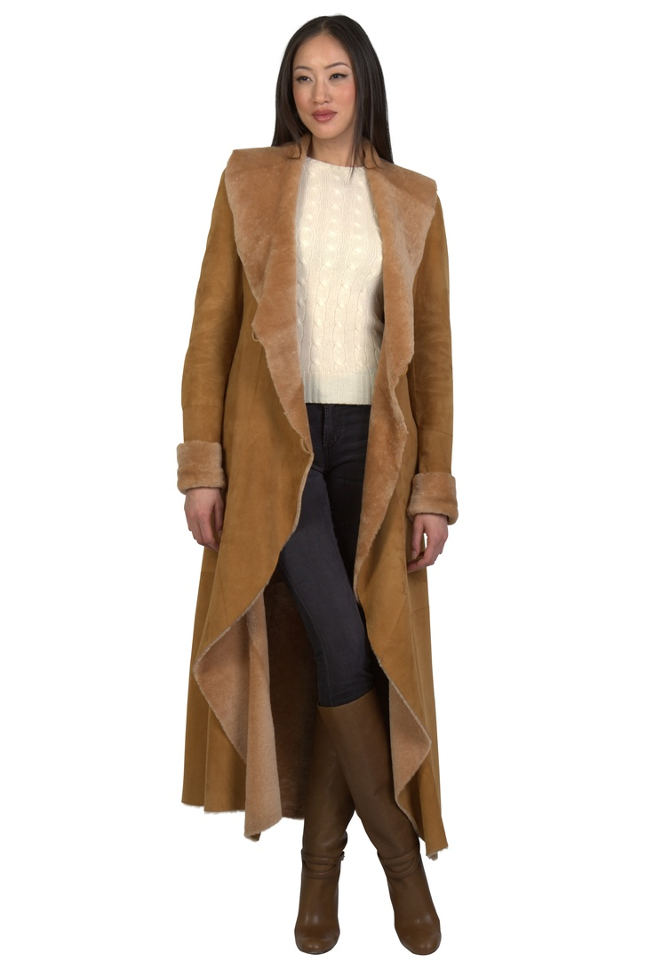 1000  images about Women&39s Shearling Coats and Jackets on