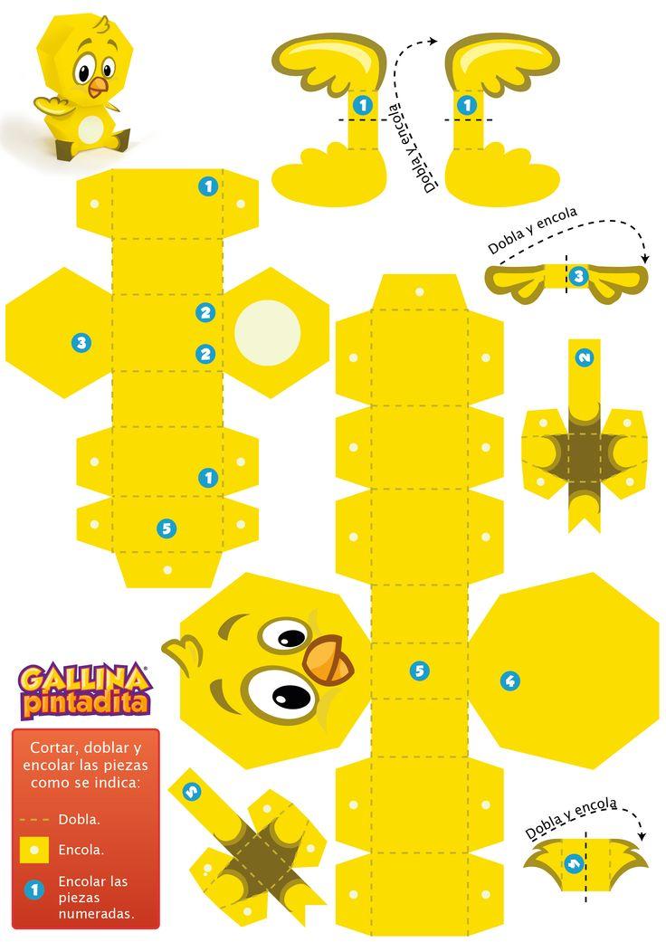 Paper Toy - Pollito                                                                                                                                                                                 Más