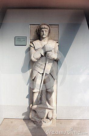Saint George triumphant