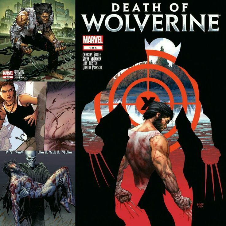Death of Wolverine 1-4  https://www.dropbox.com/sh/54zienhp9e1oltw/AABDOlmgxFX1nVVi6E0CHO1oa?dl=0  P.R.U. Comics = Pride. Respect. Unity.  If you would like a certain digital comic up next you can leave a comment or message me.