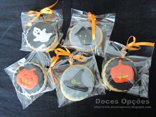 Doces Opções: Bolachas Halloween