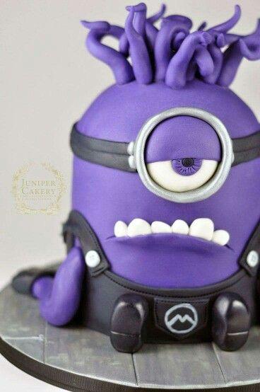 Minion monster cake