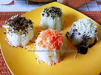 Resep Ketan Susu Tansu | Resep Masakan Indonesia (Indonesian Food Recipe)