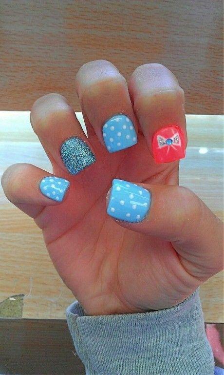 cool Super Cute Nail Designs for School