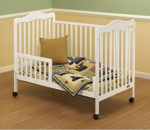 Orbelle Trading Toddler Guard Rail For Emma Crib White