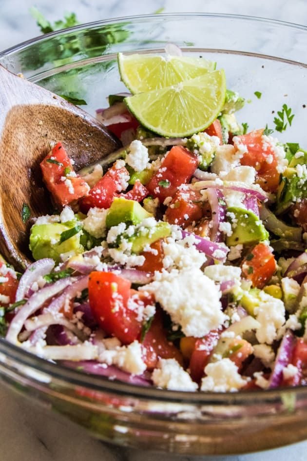 Cilantro Tomato Avocado Salad is gorgeous as a side or a main dish. Savor the fabulous flavors of summertime!
