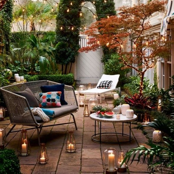 17 Best Ideas About Small Outdoor Spaces On Pinterest