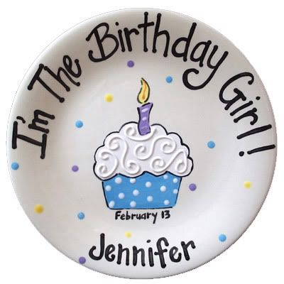 Another cute birthday plate.
