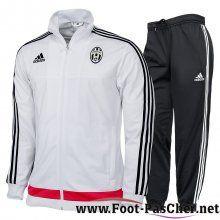 Nouveau Veste Du Juventus Blanc N98 Homme 15/2016/2017 Pas Cher -01