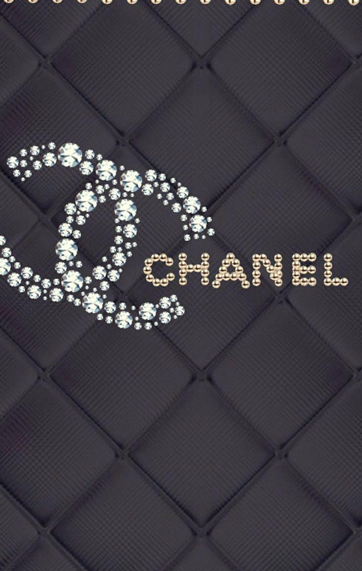 Iphone wallpaper tumblr chanel - Chanel Wallpaper Black And Silver