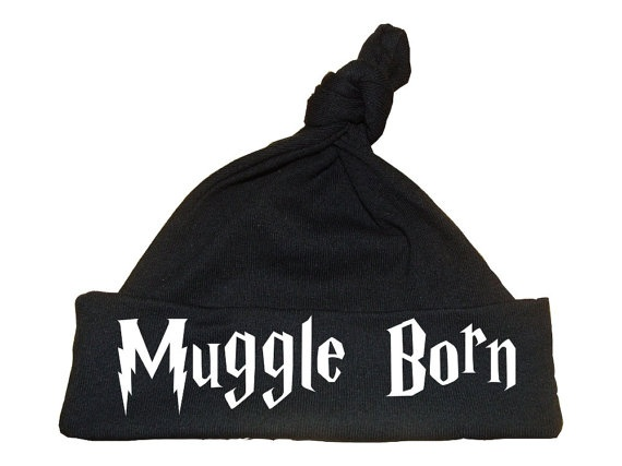 4f9323c2a7d Harry Potter Hat Muggle Born knotstyle hat by geeklingdesigns