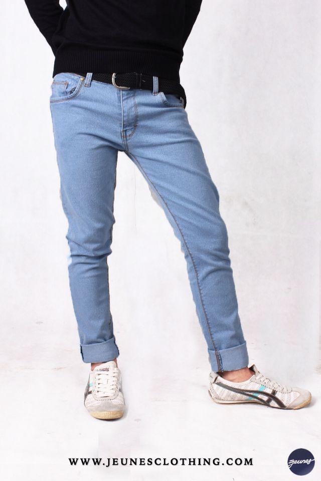 MENS!  Article: Skinny Denim Washed Size: 28 - 34 Price: 250,000 idr  WWW.JEUNESCLOTHING.COM