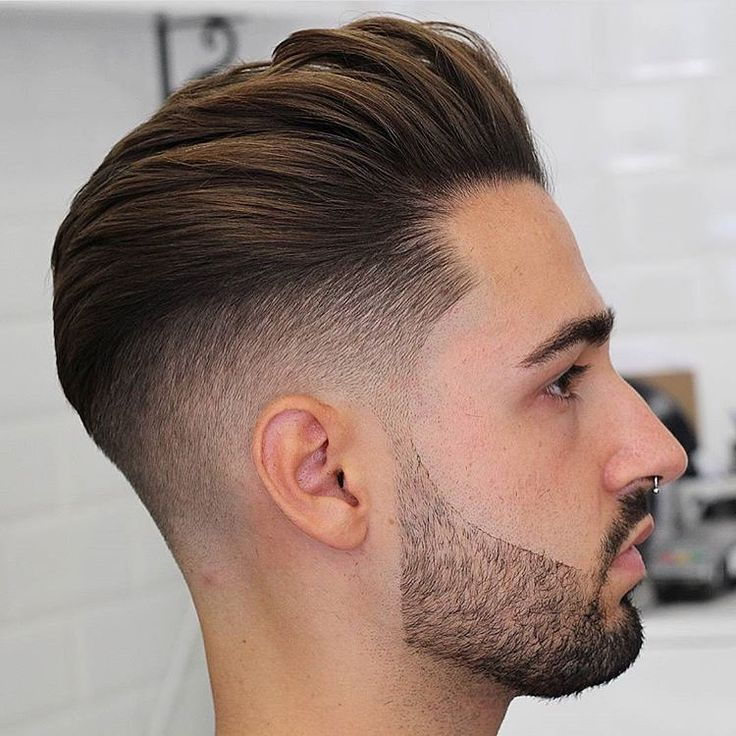 New Hairstyles 10 high lo fade medium pompadour braidbarbers_high Find This Pin And More On New Hairstyles By Tigersmundo