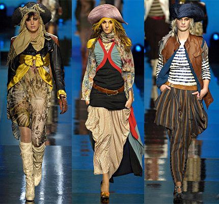 Pirate style dresses