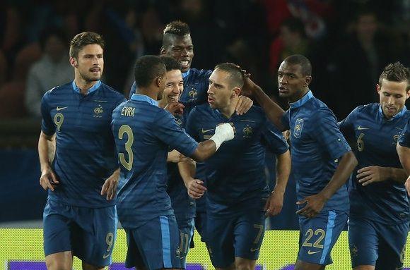 No Domingo, 15 de Junho de 2014 a seleção da França enfrenta a seleção de Honduras em um dos Jogos da Copa do Mundo 2014 no Brasil. O jogo acontece no Beira Rio, em Porto Alegre - Rio Grande do Sul às 16h (horário de Brasília) #copa2014